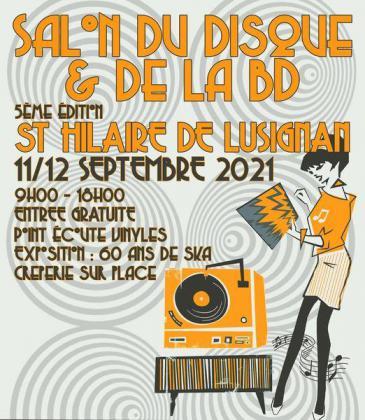 Salon du disque et de la BD de Saint-Hilaire-de-Lusignan