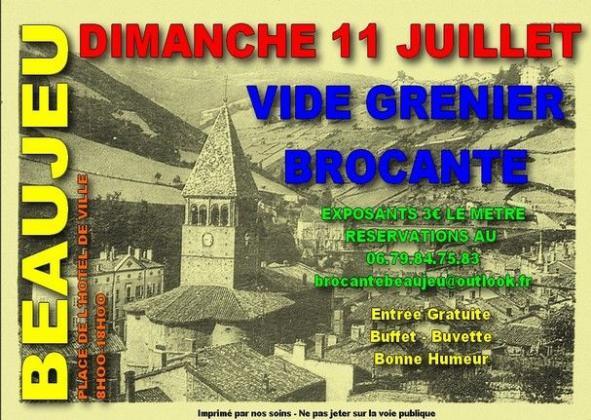 Brocante - Vide-Greniers de Beaujeu