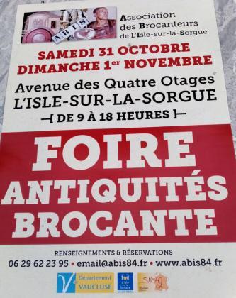 Grande Brocante Professionnelle de L'Isle-sur-la-Sorgue