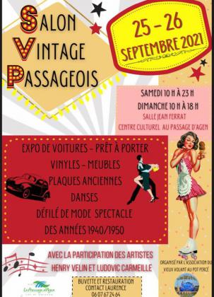 Salon vintage Passageois - Le Passage