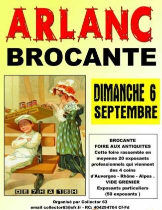 Brocante - Vide-Greniers - Arlanc