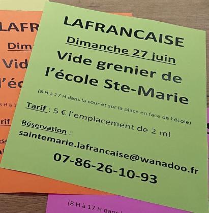 Vide-greniers de Lafrançaise