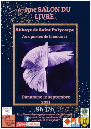 Salon du Livre à l'Abbaye de Saint-Polycarpe