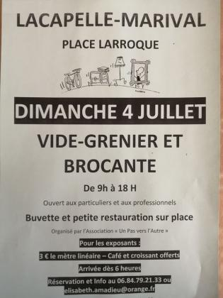 Brocante - Vide-Greniers de Lacapelle-Marival
