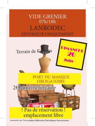 Vide-greniers de Lanrodec