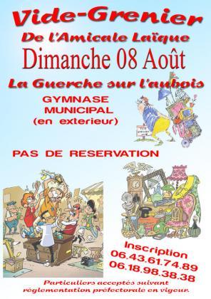 Brocante - Vide-Greniers de La Guerche-sur-l'Aubois