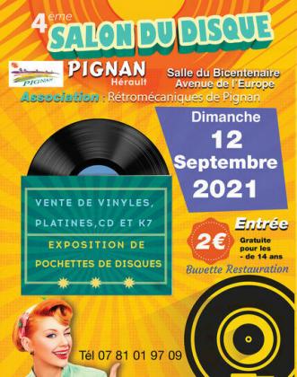 Salon du disque de Pignan