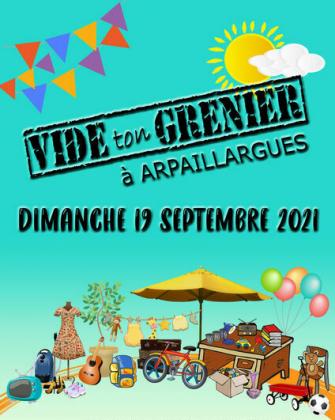 Vide-greniers - Arpaillargues-et-Aureillac