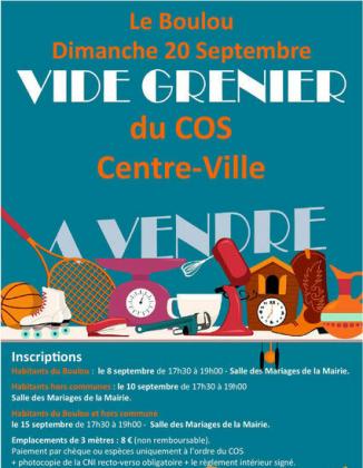 Vide-greniers - Le Boulou
