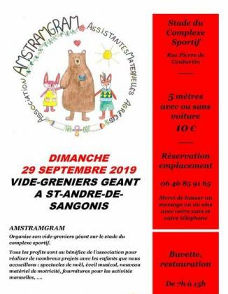 Vide-greniers de Saint-André-de-Sangonis