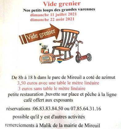 Vide-greniers de La Rochelle