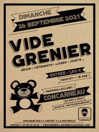 Vide-greniers de Concarneau
