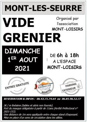 Vide-greniers de Mont-lès-Seurre