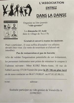 Vide-greniers de Vernéville