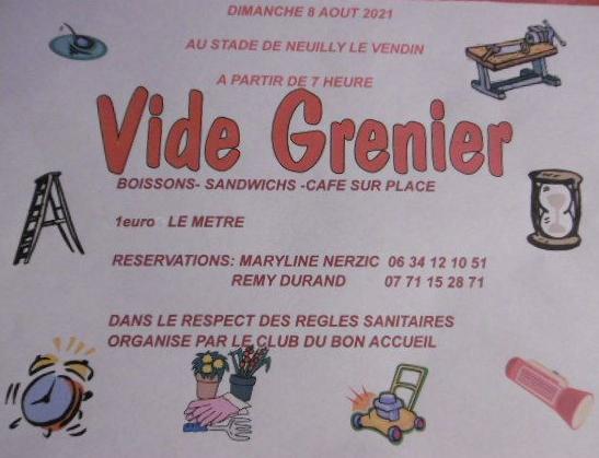 Vide-greniers de Neuilly-le-Vendin