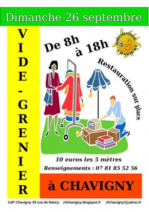 Vide-greniers de Chavigny