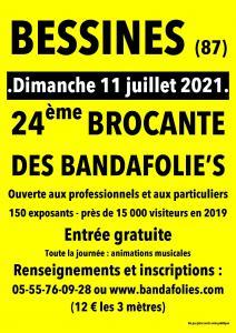 24ème BROCANTE DES BANDAFOLIE'S