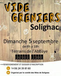 Vide-greniers de Solignac