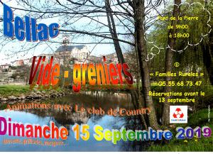Vide-greniers de Bellac