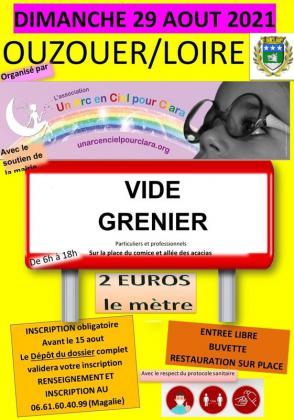Vide-greniers - Ouzouer-sur-Loire