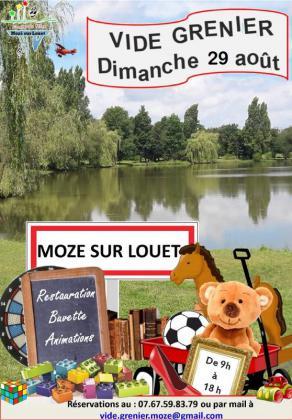 Vide-greniers de Mozé-sur-Louet