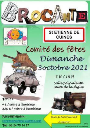 Brocante - Vide-Greniers de Saint-Étienne-de-Cuines