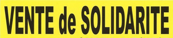 Vente de solidarité de Rouen