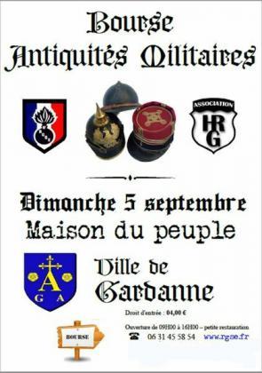 Bourse aux antiquités militaires de Gardanne