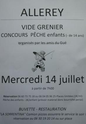 Vide-greniers - Arnay-le-Duc
