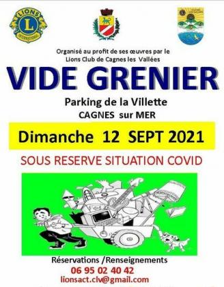 Vide-greniers de Cagnes-sur-Mer