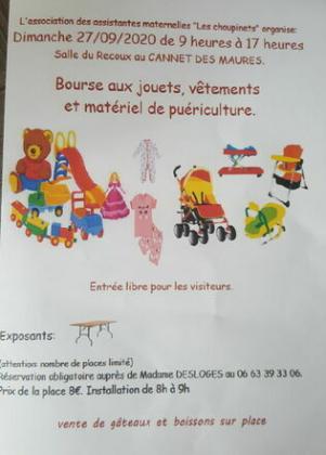 Bourse de puériculture - Le Cannet-des-Maures