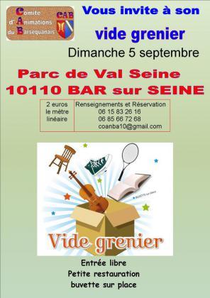 Vide-greniers de Bar-sur-Seine