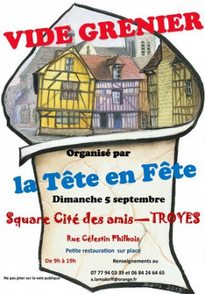 Vide-greniers de Troyes