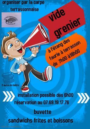 Vide-greniers de Terrasson-Lavilledieu