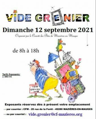 Vide-greniers de Mazières-en-Mauges