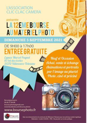 Bourse au matériel photo de Villeneuve-Tolosane
