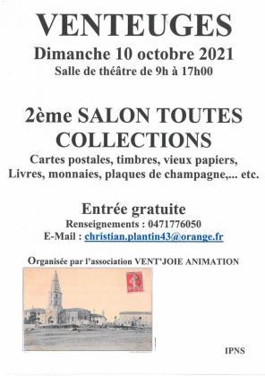 Salon toutes collections de Venteuges