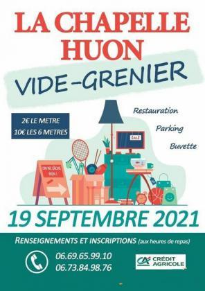 Vide-greniers de La Chapelle-Huon
