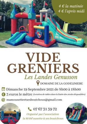 Vide-greniers - Les Landes-Genusson
