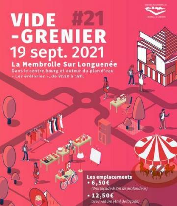 Vide-greniers de Longuenée-en-Anjou
