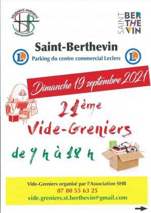 Vide-greniers de Saint-Berthevin