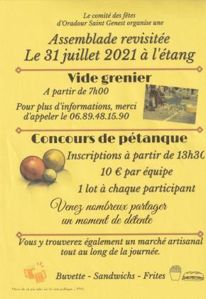 Vide-greniers - Oradour-Saint-Genest