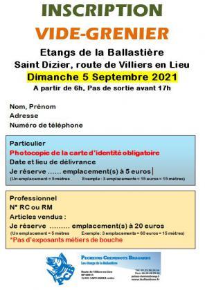 Vide-greniers de Saint-Dizier