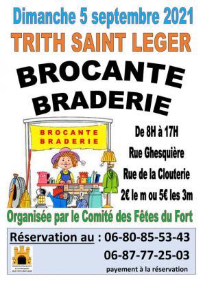 Braderie Brocante de Trith-Saint-Léger