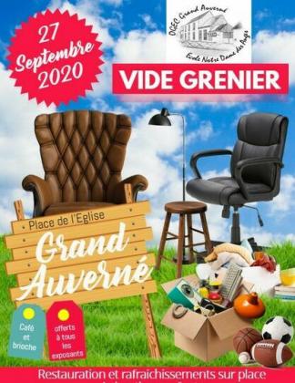 Vide-greniers de Grand Auverné