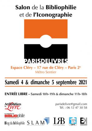 Salon de la Bibliophilie et de l'Iconographie de Paris 02