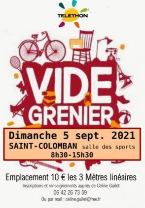 Vide-greniers de Saint-Colomban
