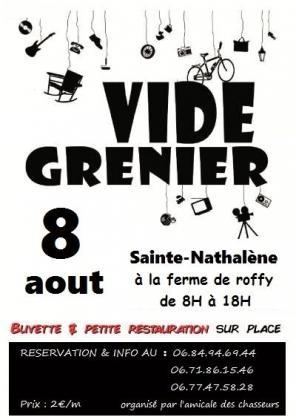 Vide-greniers de Sainte-Nathalène