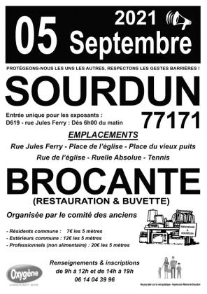 Brocante - Vide-Greniers de Sourdun