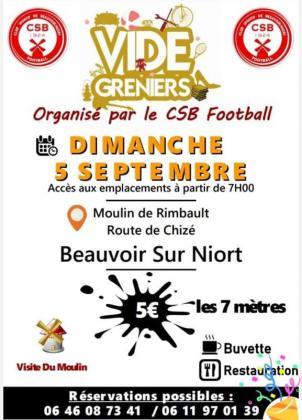 Vide-greniers de Beauvoir-sur-Niort